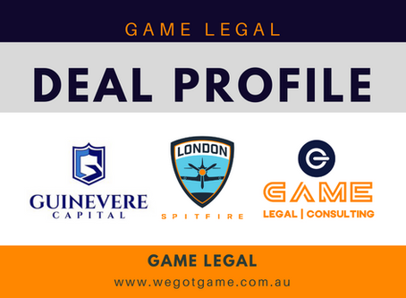 Game Legal advises Guinevere Capital on strategic partnership with Cloud9's London Spitfire