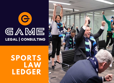 Sports Law Ledger - Monday 29 June 2020