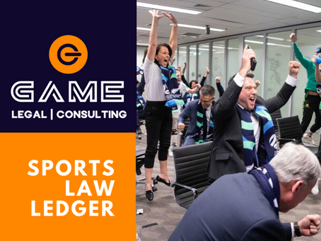 Sports Law Ledger - Monday 29 June 2020