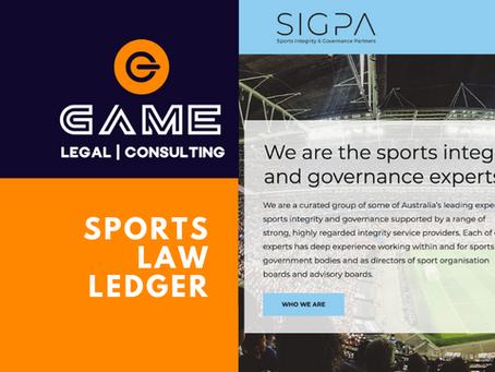Sports Law Ledger - Monday 7 September 2020