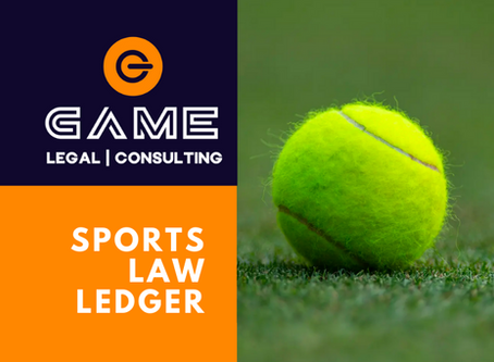 Sports Law Ledger - Monday 27 July 2020