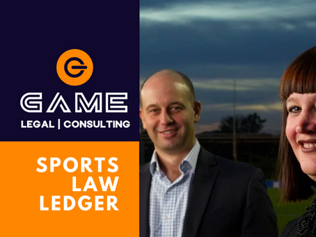 Sports Law Ledger - Monday 27 April 2020