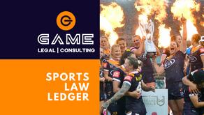 Sports Law Ledger - Monday 26 October 2020