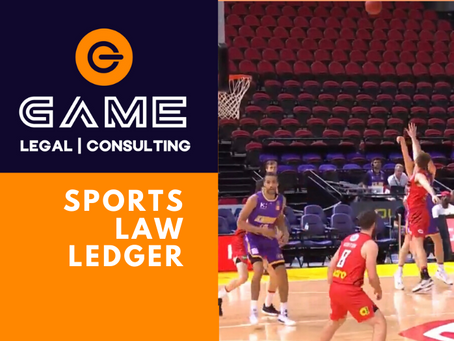 Sports Law Ledger - Monday 16 March 2020