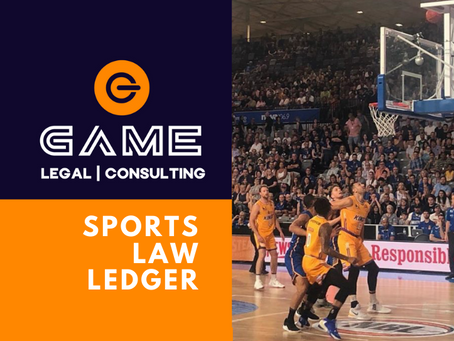 Sports Law Ledger - Monday 2 March 2020