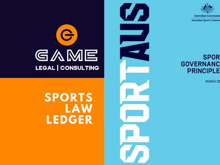 Sports Law Ledger - Monday 10 August 2020