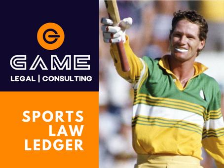 Sports Law Ledger - Monday 28 September 2020