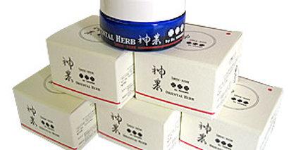 美肌クリーム・マッサージ・肩こり・火傷など敏感肌にも安心な多機能クリーム┃ハーブ神農クリームII(30g)1ケース(6個入り)
