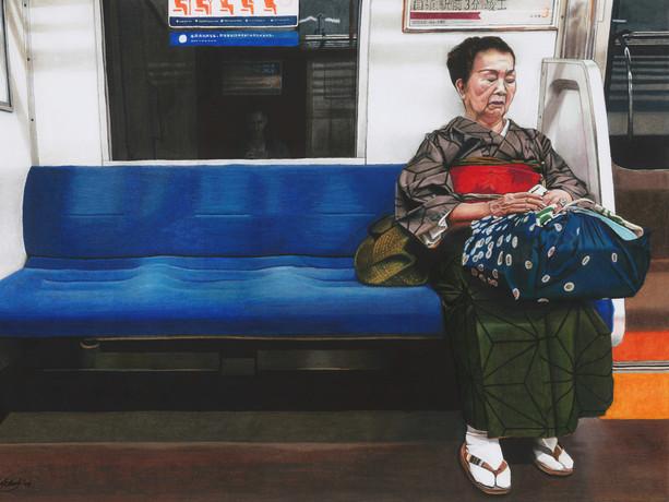 On Reflection, A Self Portrait