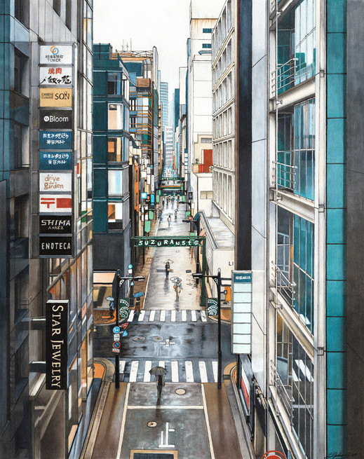 A View of Ginza