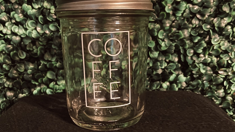 Coffee Mason Jar