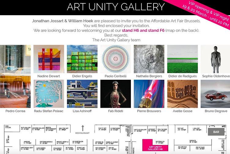 Affordable Art Fair 2020 & Art Unity Gal