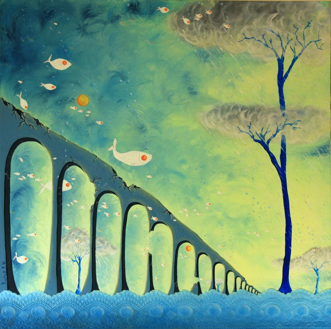 La migration de poissons soleils