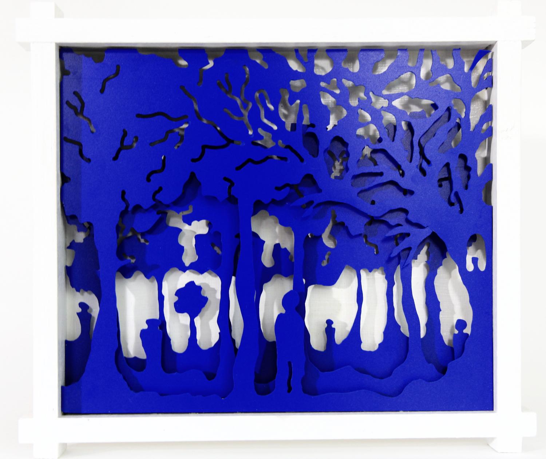 Bleu forest