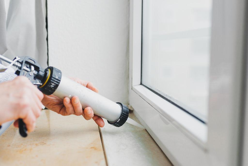 Montage von Fenstern und Türen