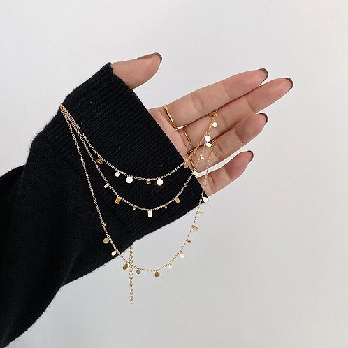NEW CHAIN NECKLACES