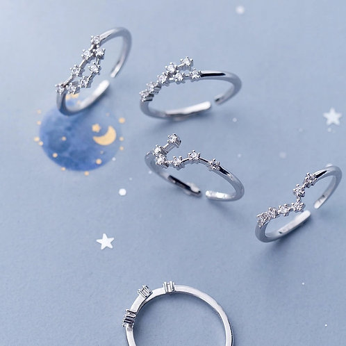 CONSTELLATION RING STERLING SILVER