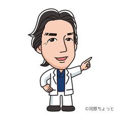 医師似顔絵キャラクター