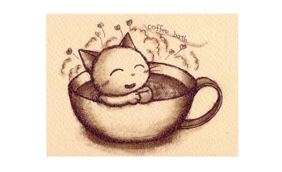 coffee bath