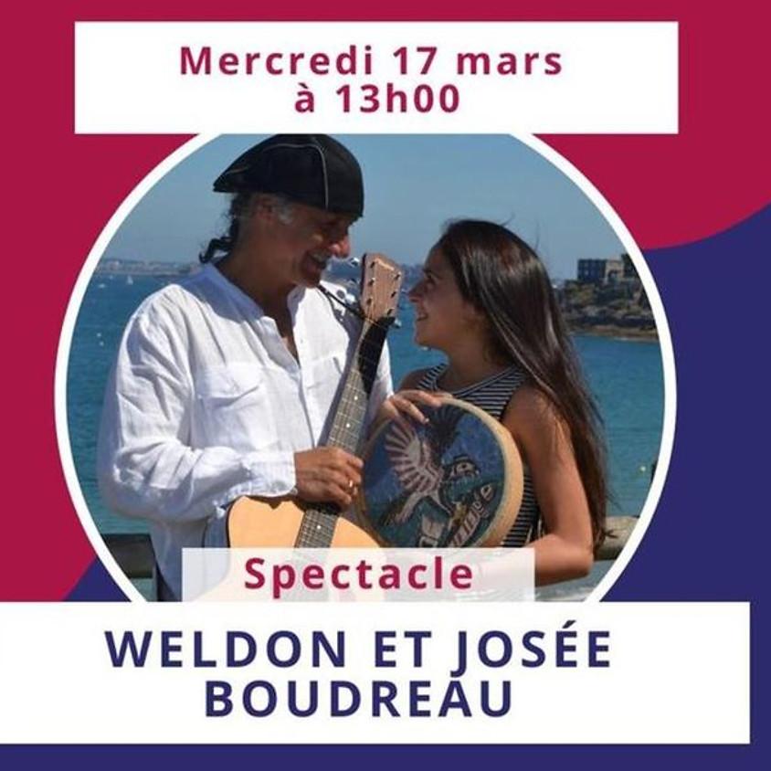Spectacle de Weldon et Josée Boudreau (FPANÉ)