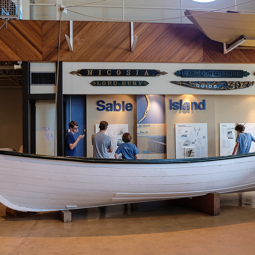 Visite au musée maritime de l'Atlantique (24 juillet)