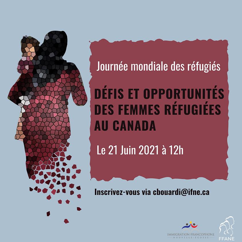 Webinaire : Défis et opportunités des femmes réfugiées au Canada