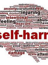 Behind Self Harm by Steve J Hermann
