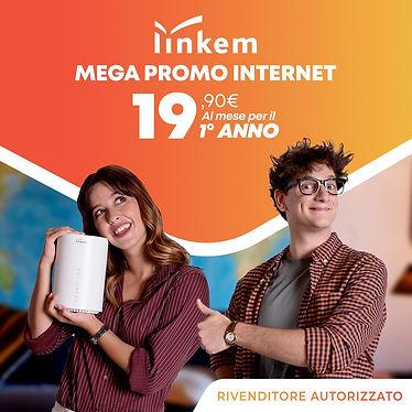 linkem 19.90 euro al mese per 12 mesi