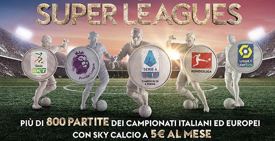 sky calcio 5 euro
