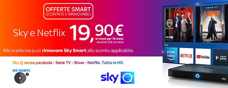 sky smart NETFLIX