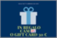 SKY CAM GIFT CARD 30 €