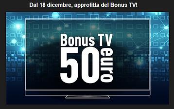 BONUS 50 EURO TV