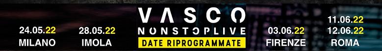 VASCO NON STOP LIVE 2022