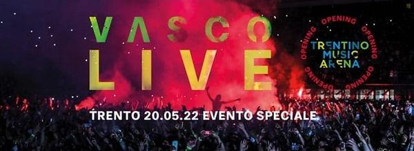 VASCO LIVE TRENTO 20 MAGGIO 2022