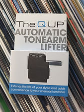 THE Q UP AUTOMATIC TONEARM LIFTER