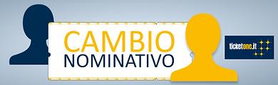 CAMBIO NOMINATIVO TICKETONE