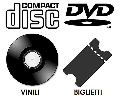 cd dvd vinili biglietti eventi 18 app