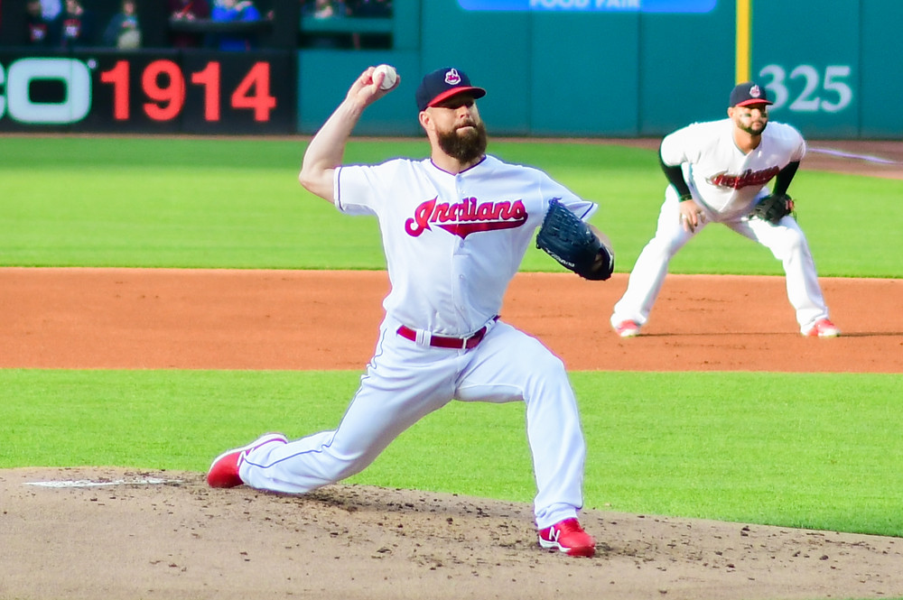 Corey Kluber has won two Cy Young Awards.