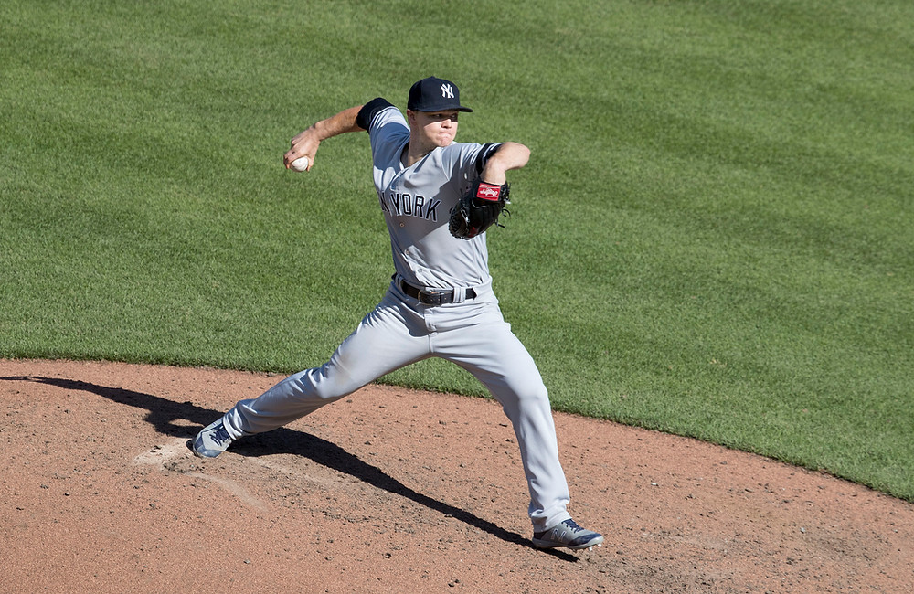 Pitcher Sonny Gray of the New York Yankees.