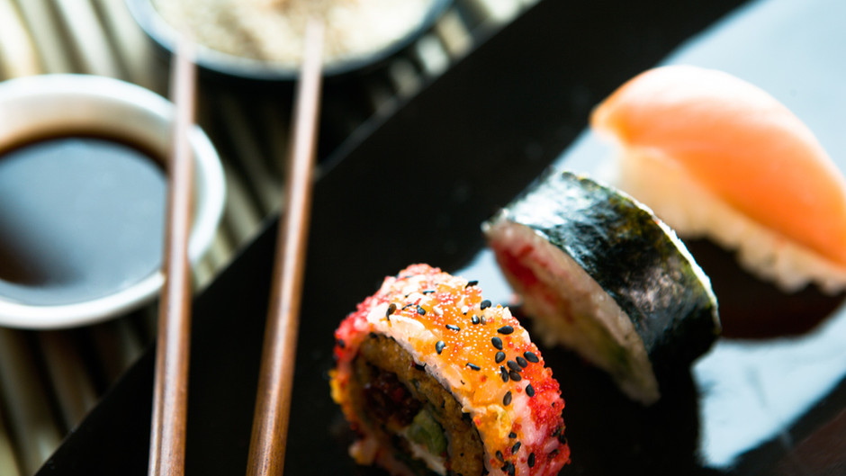 i miss sushi.