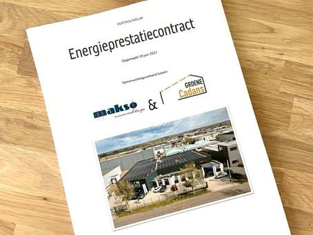 Energieprestatiecontract Groene Cadans - Makso