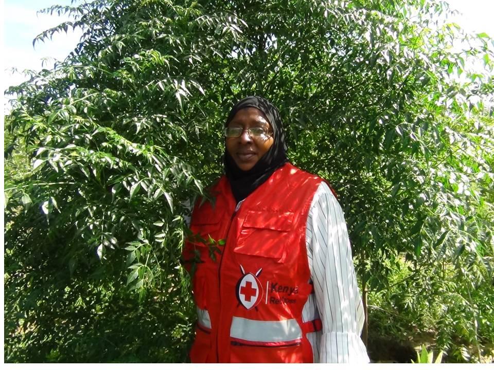 Mwanamuna Swale from Kenya Red Cross