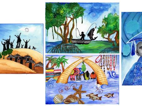 Ng'ombeni-Pesa Artwork