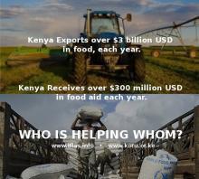 Kenya's Food Exports vs Food Aids