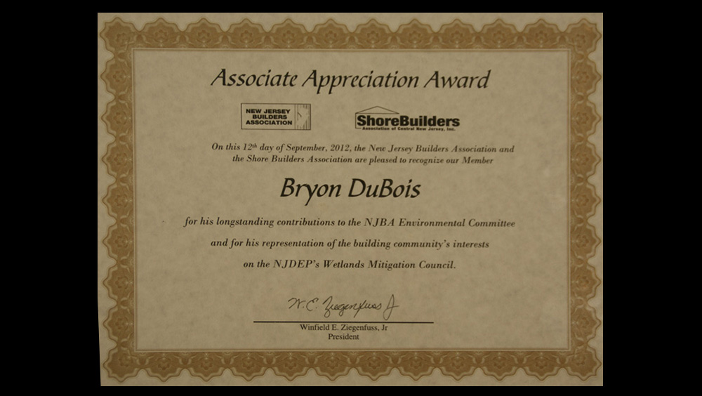Associate Appreciate Award 2012