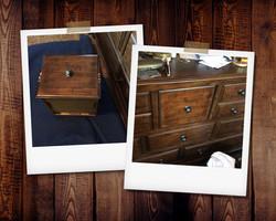 Gouged Drawer Repair on Dresser