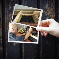 At Home Repair Seat structure repair