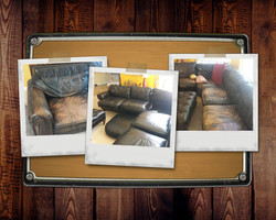 20 Year Old Leather Sectional