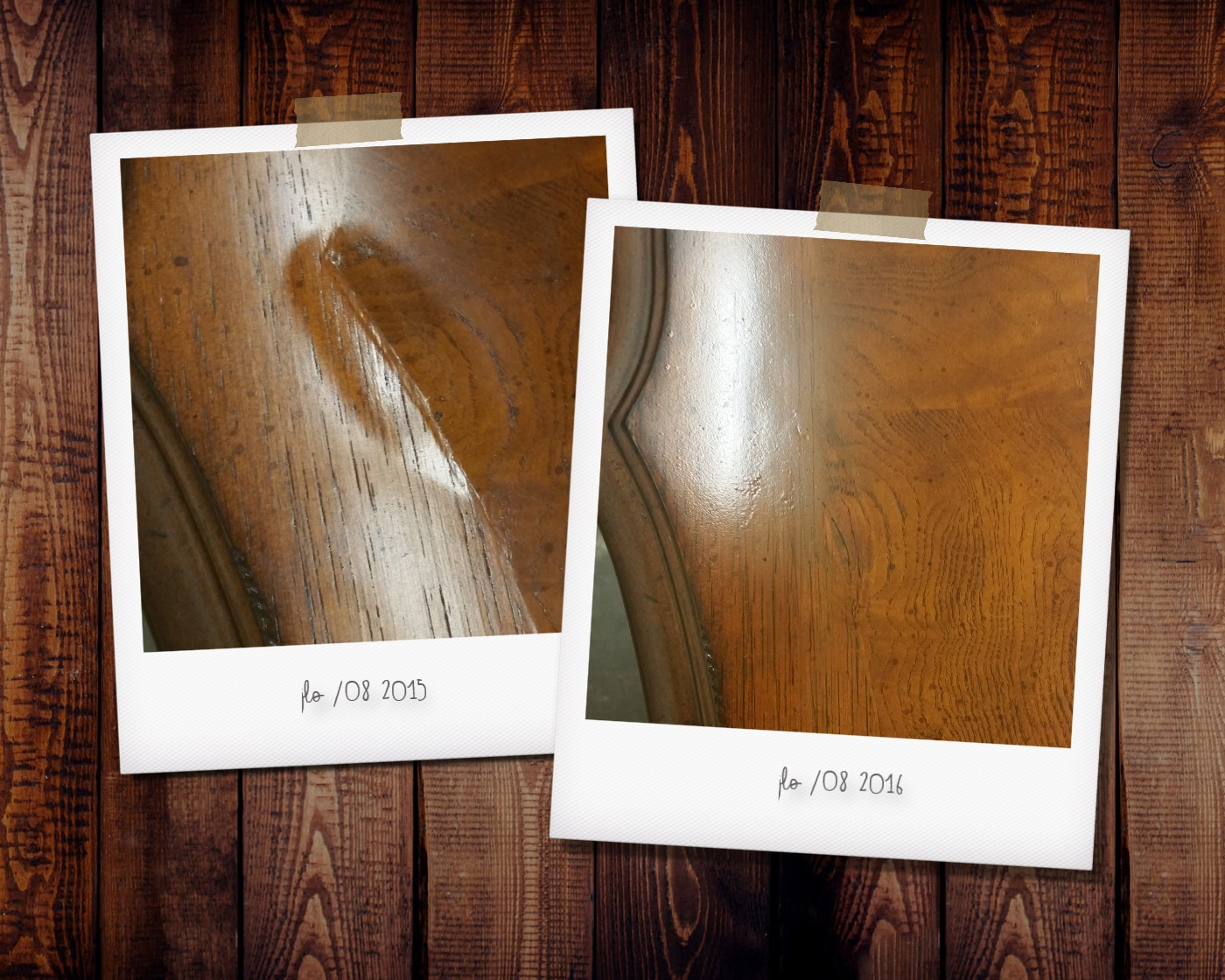 Veneer Damage Table Top