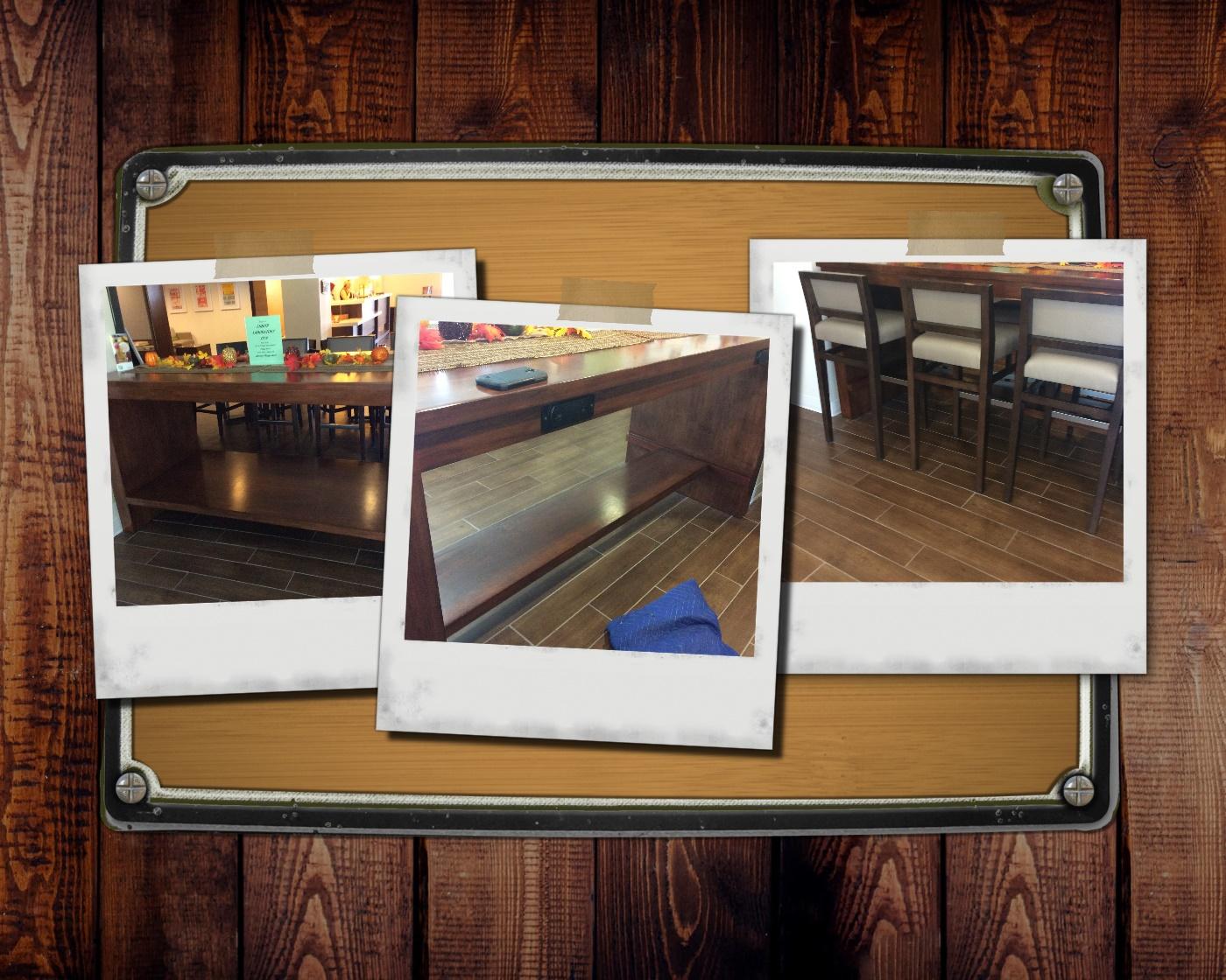 Pub Table Modification
